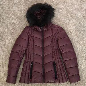 Inc puffer jacket with hood